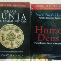 Harga paket buku mega best seller sejarah dunia yang disembunyikan dan | Pembandingharga.com