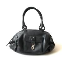 Tas Salvatore Ferragamo Leather Black Abb