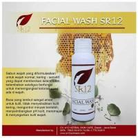 SR12 Facial Wash Madu 100 ML - Pembersih dan Penyegar Wajah