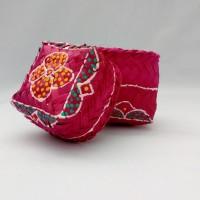 Box mini tempat perhiasan kerajinan dari Bali - besek mini - M1
