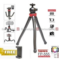 Takara Tripod Mini FP-555 Ballhead Gorillapod Camera DSLR/Smartphone