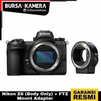 Nikon Z6 Body+ FTZ Mount Adapter