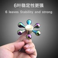Hobby Spinner Fidget Metal Rainbow Kristal Salju Murah Maina SBBA9942