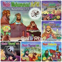 BUKU ANAK - Seri 25 Kisah Nabi dan Rasul Harga Termurah