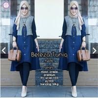 Beleza Tuniq/beleza Tunik/Bahan Balotely Mix Katun