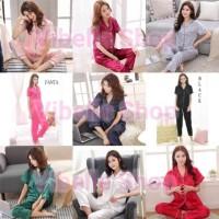 SATINCP - Satin Silky Velvet Vibelle shop grosir baju tidur piyama CP