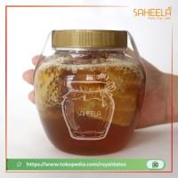 Harga madu sarang murni saheela 500 gram free sendok madu asli | Pembandingharga.com