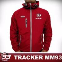 jaket tracker waterproof / jaket taslan GP marc marquez