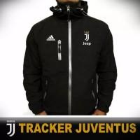 jaket tracker bola club liga italia / jaket taslan waterproof