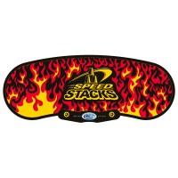 G4 Mat - Black Flames