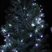 10M Lampu Kabel 100 LED Anti Air untuk Dekorasi Natal Pernikahan