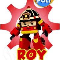 Gratis Cetak Nama ! Kaos Anak Robocar Poli -Rbc 02