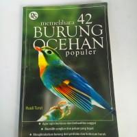 buku memelihara 42 burung ocehan populer, buku bekas lawas 2010