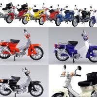Aoshima 1/32 Honda Super Cub - miniatur motor bekjul