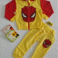 Baju Sweater Anak Spiderman   Baju Setelan Anak Import