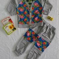 Baju Sweater Anak Perempuan Bunga   Baju Setelan Anak Import