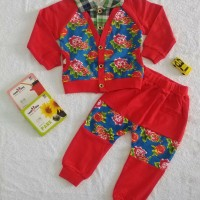 Baju Anak Sweater Cewek Motif Bunga   Baju Anak Import