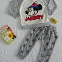Baju Sweater Anak Lucu Motif Kartun Mickey   Baju Setelan Anak Import