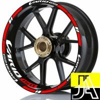 stiker velg motor wheels sticker new Honda Vario 150 ring 14