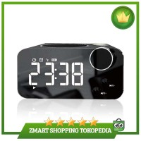 Musky DY39 Smart Mirror LED Display Alarm Clock Wireless Bluetooth