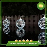 1.65M 10 Leds Mirror Ball Light LED Light String Home Holiday Decor