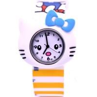 (ELLE, SKMEI) Sale Jam Tangan Anak Analog Murah Karakter Hello Kitty