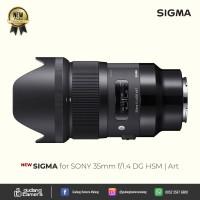 [NEW] Sigma for SONY 35mm f/1.4 DG HSM | Art @Gudang Kamera Malang