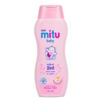 Mitu Baby Bath 200ml / Sabun Bayi Mitu 2in1