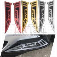 Bordes Pijakan Kaki Step Floorboard Stainless MHR Yamaha Aerox 155 VVA