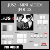 JUS2 (JB YUGYEOM) - MINI ALBUM [FOCUS]