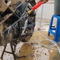 Set Lengkap Mesin Power Sprayer Alat Cuci AC Motor Mobil Steam