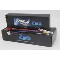 Zeee 7200mah 2s 7.4v 80c Hardcase Lipo Battery
