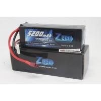 Zeee 5200mah 6s 22.2v 50c Lipo Battery