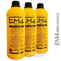 Pupuk Cair EM-4 Pertanian - Efektif Mikro Organisme