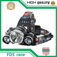 Senter Kepala Taffware High Power Headlamp Cree XM-L T6 5000 Lumens