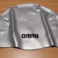 ARENA SWIMMING CAP - SILVER