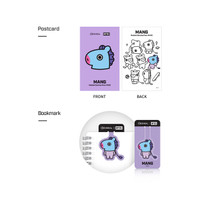 MEDIHEAL BT21 Postcard + Bookmark MANG - 100% ORIGINAL KOREA !!!