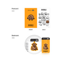 MEDIHEAL BT21 Postcard + Bookmark SHOOKY - 100% ORIGINAL KOREA !!!
