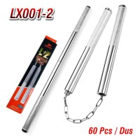 Double Stick Nunchaku Bruce Lee Tongkat Baton Sambung Besi LX001-2