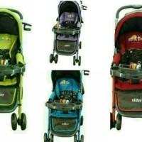 New Gojek Kereta Dorong Bayi Pliko Raider B.S228 Baby Stroller Troli