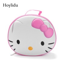 588d1b4a0 3D Cute Hello Kitty Women Cosmetic Bags for Makeup Bag Ladies Large