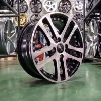 Velg Mobil Palang 5 Ring 15 HSR HAMMER Baut 4 Pcd 4x100 Pelek Terbaru