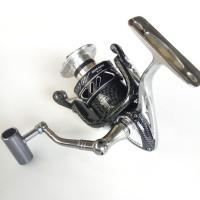 ( Reel Pancing SCORPION HLA 4000 12+1 Ball Bearing. body metal.