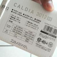( Reel Spinning Daiwa Caldia 3012H drag 7 kg