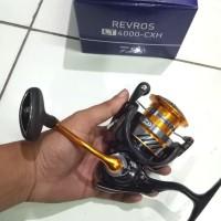 ( Reel Spinning Daiwa Lt4000-CXH Power Handle max drag 12kg