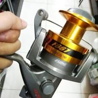 ( Reel Laut Ka'Izen ZEN F667 Double Spool. alat pancing murah