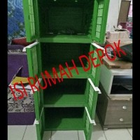 Harga best seller lemari plastik tabitha 4 susun modern minimalis murah   Pembandingharga.com