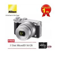 Harga promo nikon 1 j5 kit 10 30mm nikon j5 resmi free microsd 16   Pembandingharga.com
