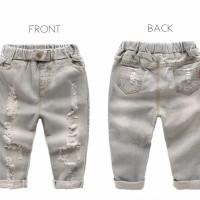 Harga celana jeans robek roke terlaris ripped pank | Pembandingharga.com