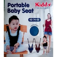 Portable Baby Seat Kiddy - Blue